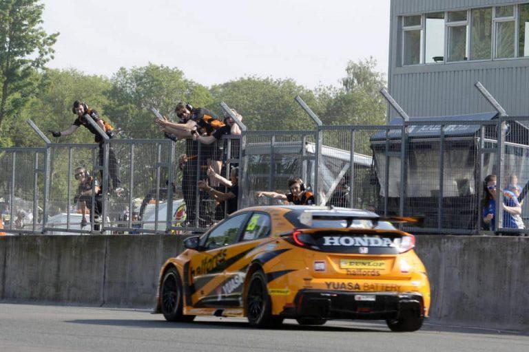 Honda team tops race, BMW the BTCC points
