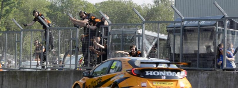 Honda team tops race, BMW tops points in BTCC