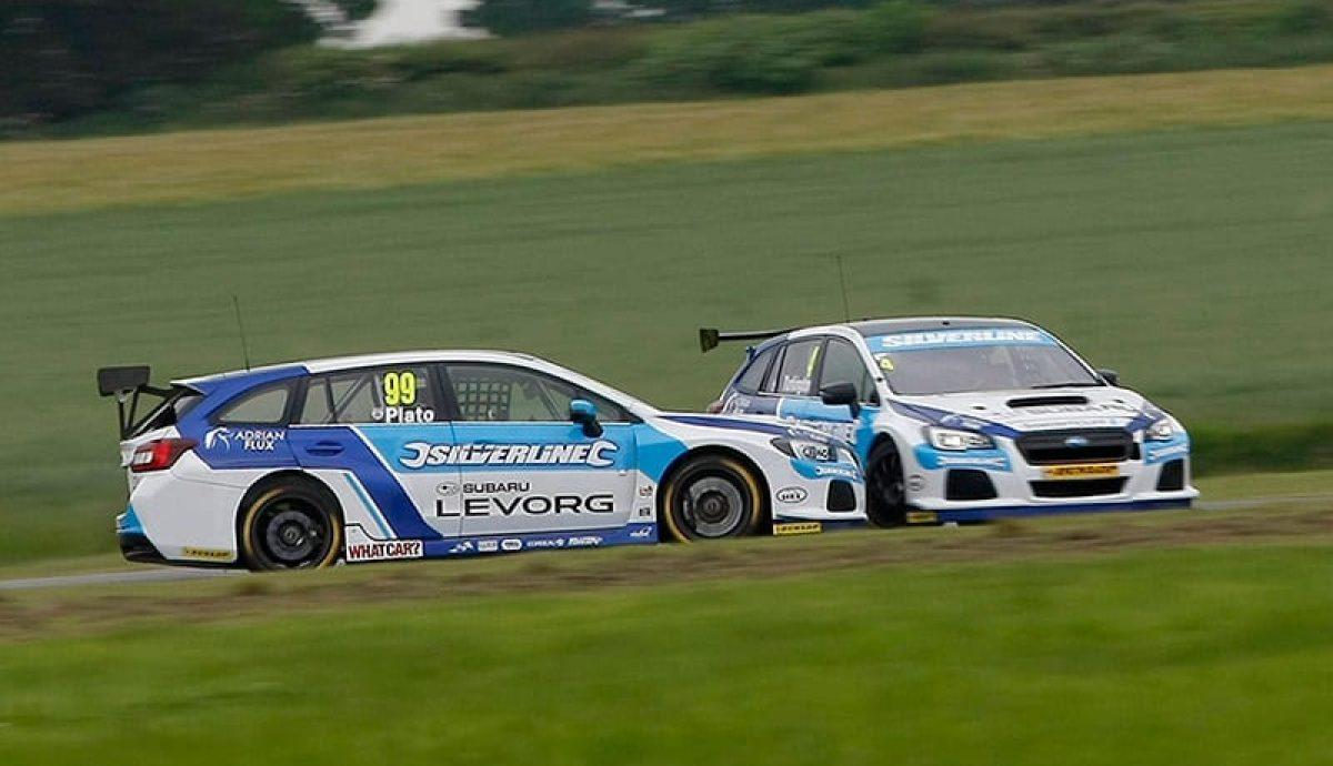BMW capitalised on Subaru drivers' error in latest BTCC race