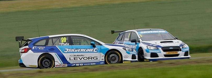 BMW capitalised on Subaru drivers' error in latest BTCC race