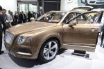 Frankfurt: Buyers clamouring for £160K Bentley SUV