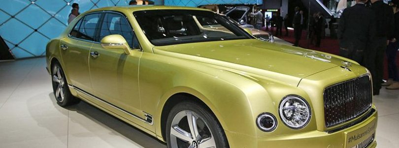Geneva show – Bentley extends Mulsanne