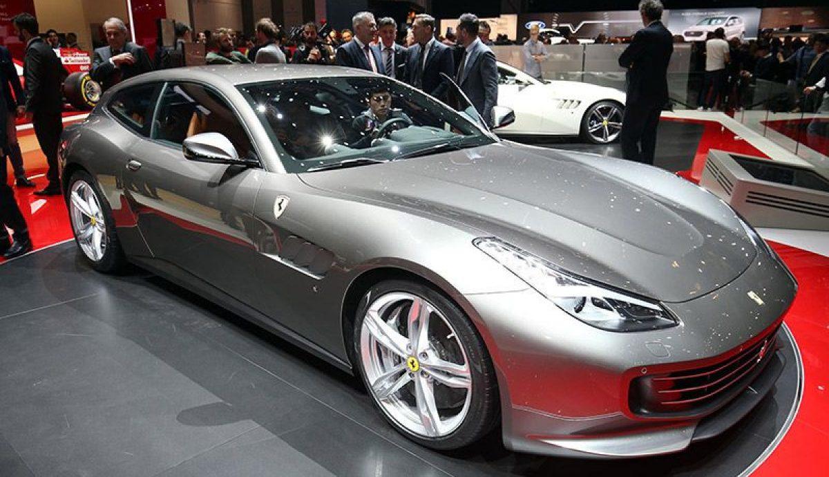 Geneva – Ferrari adds power of Four