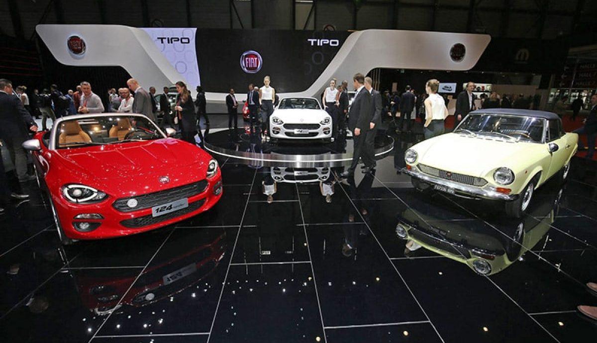 Geneva – Fiat heats up its 124 roadster