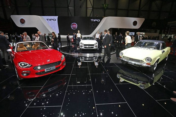 Geneva – Fiat heats up its 124 roadster 1