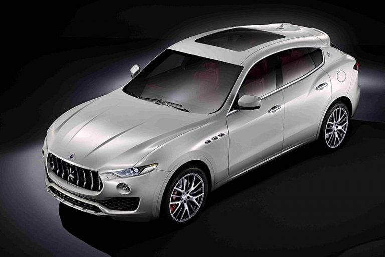 Maserati Levante SUV revealed ahead of Geneva premiere