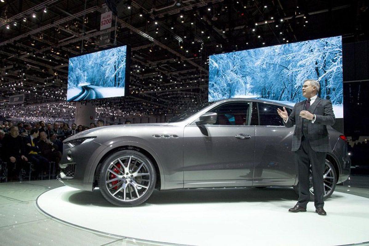 Geneva show – Levante is Maserati's SUV