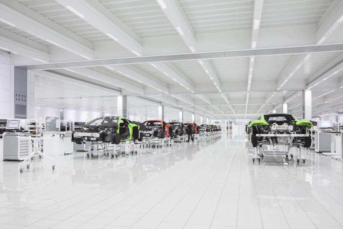 McLaren Automotive production line brexit