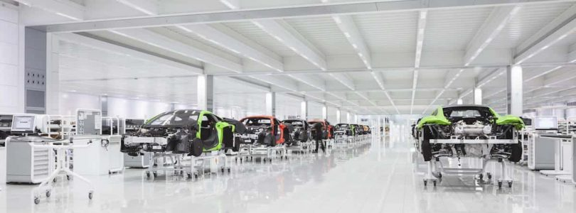 McLaren Automotive production line brexit