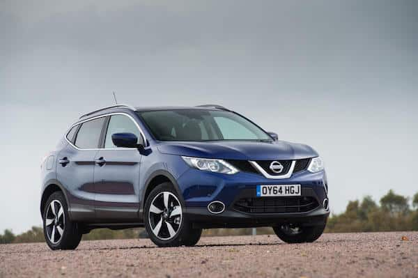 Nissan Qashqai - 3rd safest used family car in the UK 2016