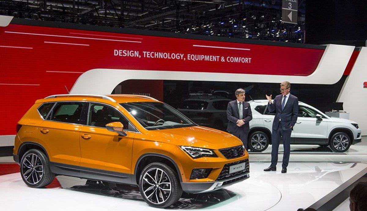 Geneva Show – SEAT debuts Ateca SUV