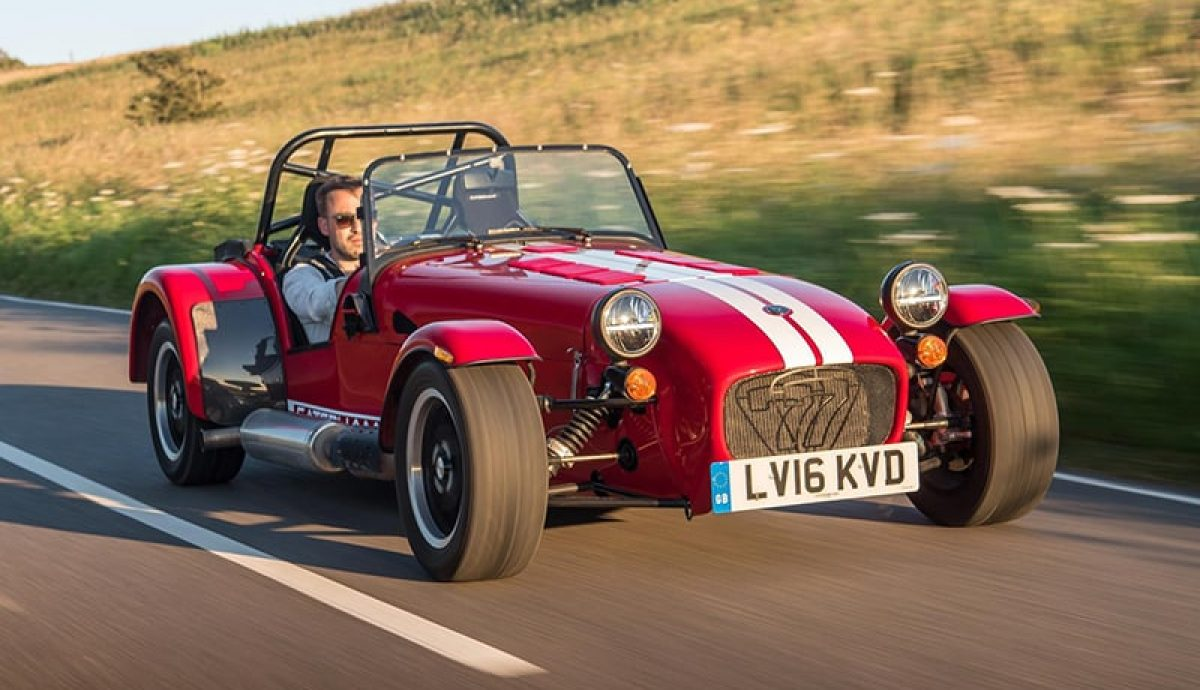 Track inspires Caterham's newest model