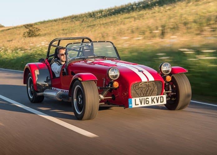 Track inspires Caterham's newest model 1