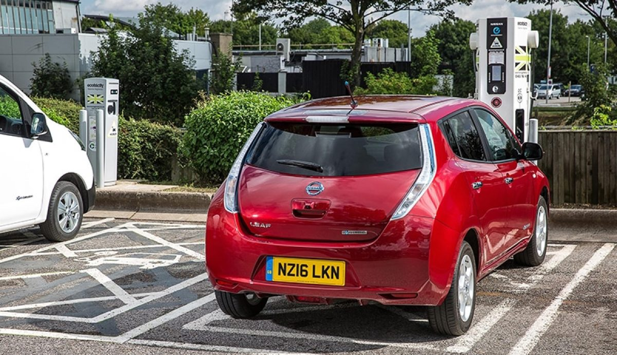 'More EV points than petrol stations by 2020'