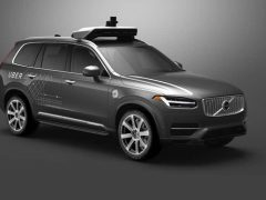 Volvo XC90 and Uber
