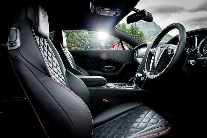 Bentley Continental GT Speed 2016 interior 01