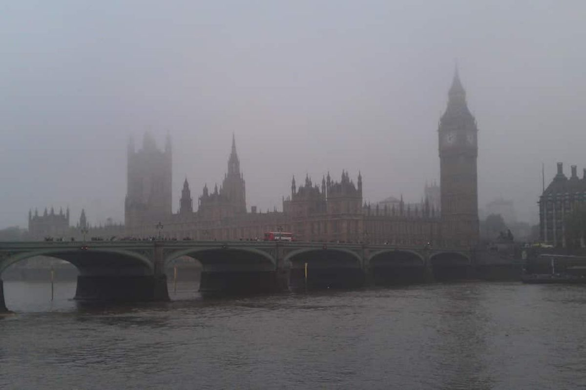 London pollution will theoretically be reduced when the ULEZ arrives in 2019
