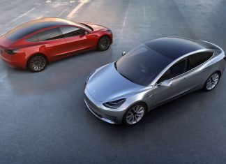 Tesla Model 3, due in 2018