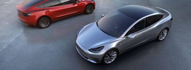 Tesla Model 3, due in 2018