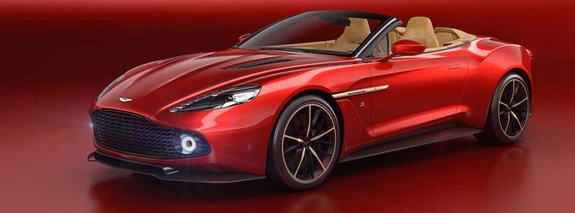 Aston Martin Vanquish Zagato Volante premieres