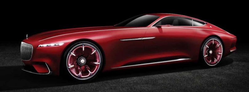 Vision Mercedes-Maybach 6 coupé 01