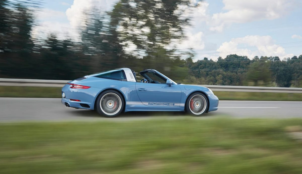 Porsche 911 Targa 4S Exclusive Design Edition , dynamic