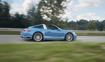 Porsche 911 Targa 4S Exclusive Design Edition , dynamic