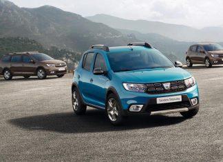 Dacia Sandero, Stepway and Logan MCV
