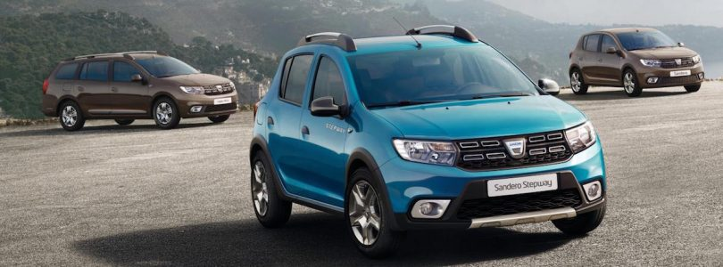 Dacia Sandero, Stepway and Logan MCV