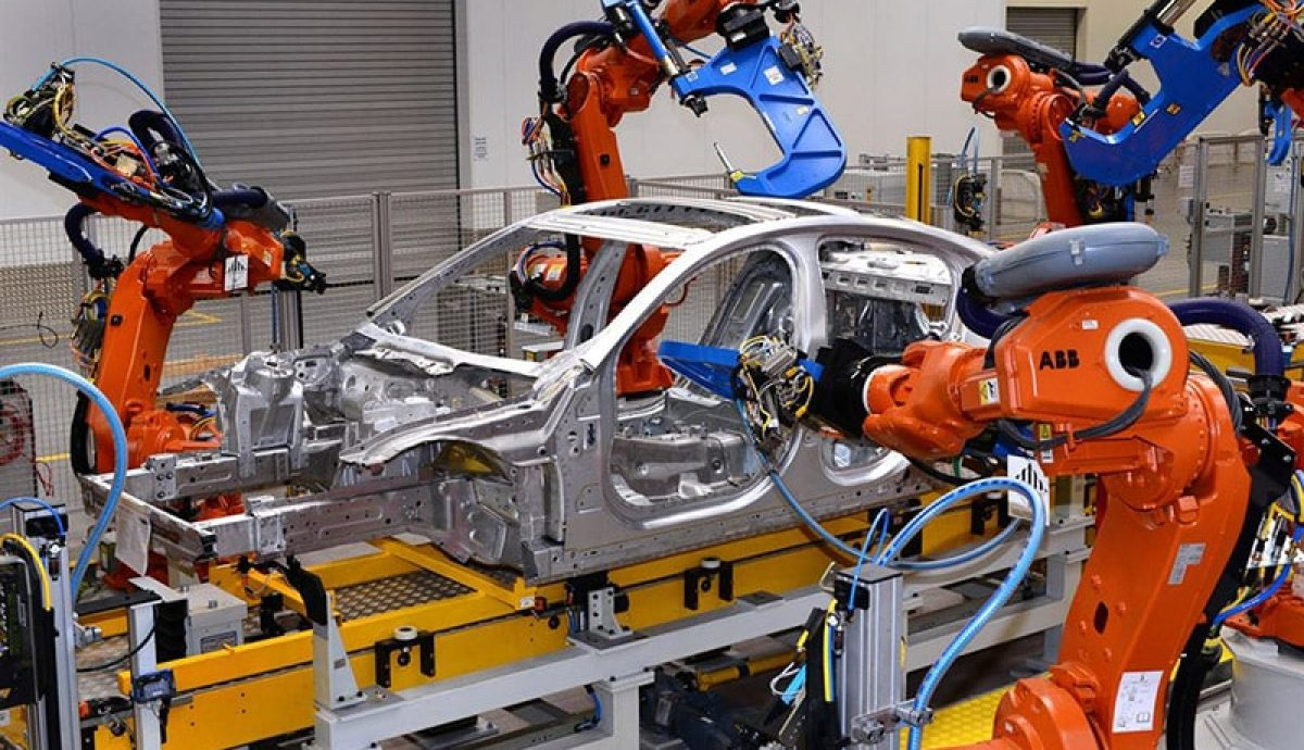 Jaguar XE moves to booming Birmingham plant