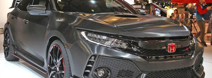 Type-R tops Honda Civic Paris debut