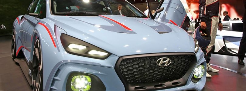 Paris show – Hyundai unveils its Type-R rival