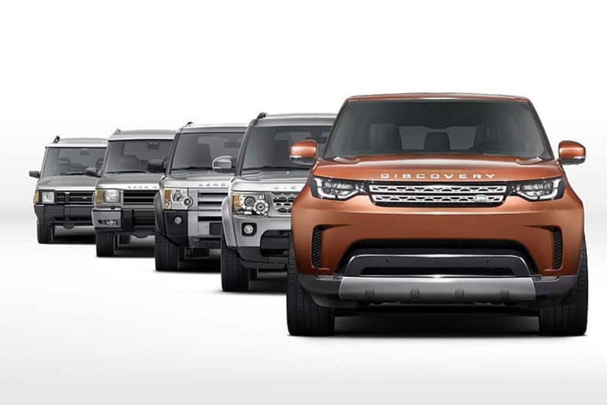 Land Rover teases Discovery ahead of Paris debut