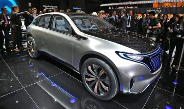 Paris show – Mercedes-Benz Generation EQ concept