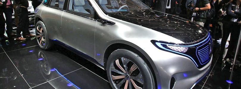 Paris show –Mercedes-Benz Generation EQ concept