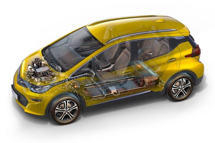 Vauxhall studies potential of electric Ampera 1