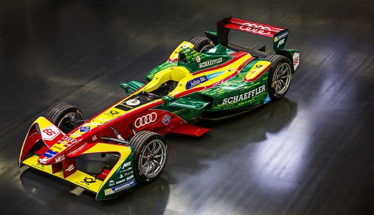 Audi Team ABT Schaeffler Formula E