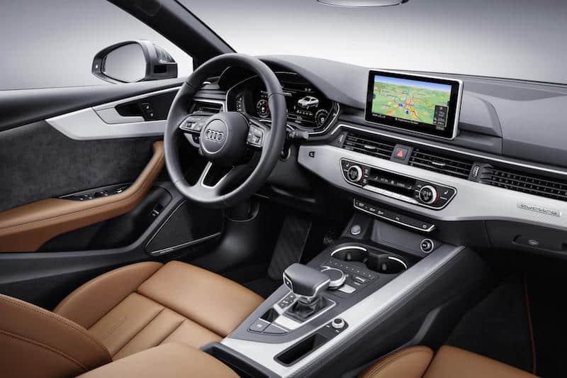 Audi A5 Sportback interior
