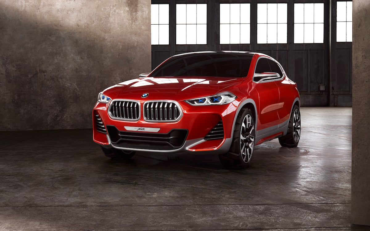 BMW Concept X2 SUV crossover