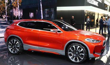 BMW Concept X2 at the 2016 Paris Motor Show