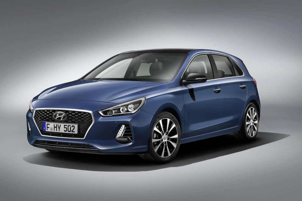 Hyundai i30 five-door hatchback