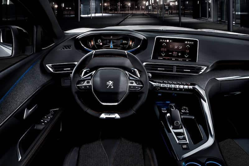 New Peugeot 5008 interior i-Cockpit