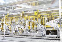 Jaguar Cars production line - Castle Bromwich