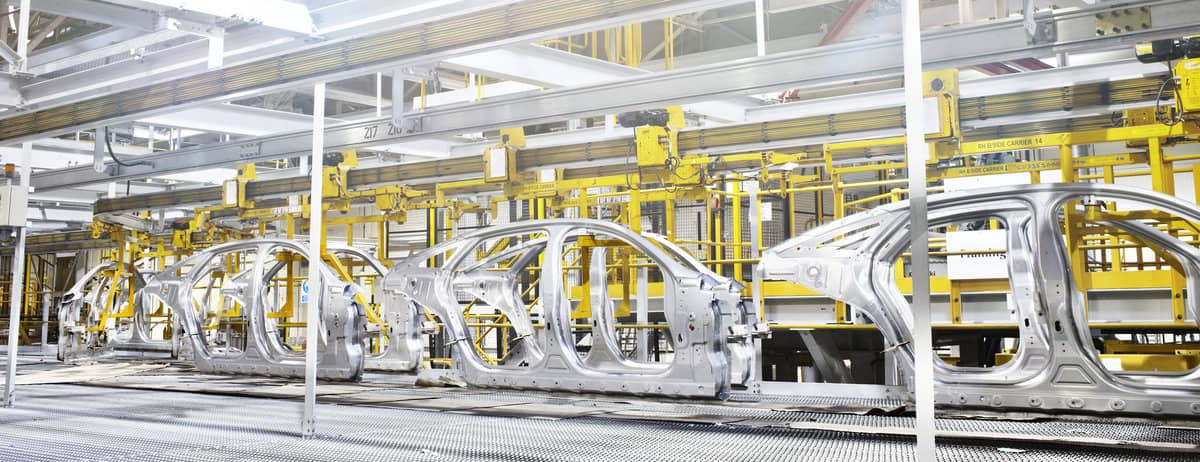 Jaguar production line – Castle Bromwich