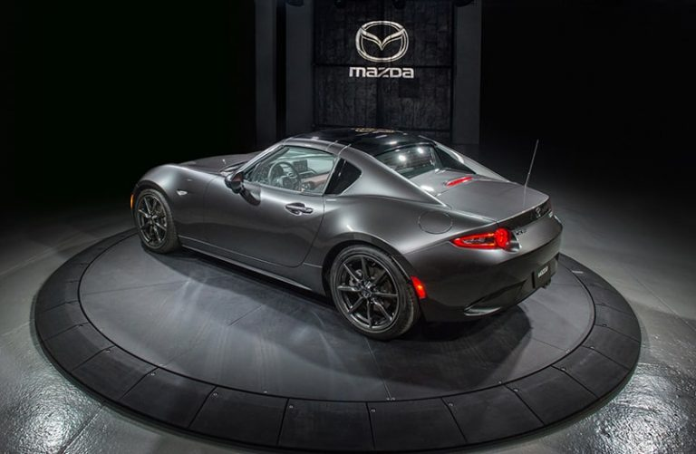 Mazda launches hard-top version of new MX-5