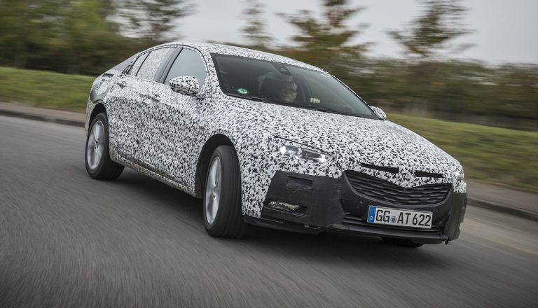 Vauxhall Insignia replacement shown testing