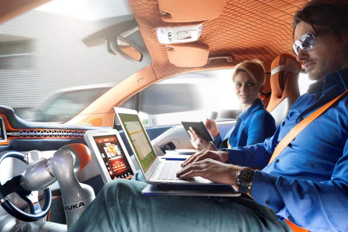 Autonomous car with Harman technology