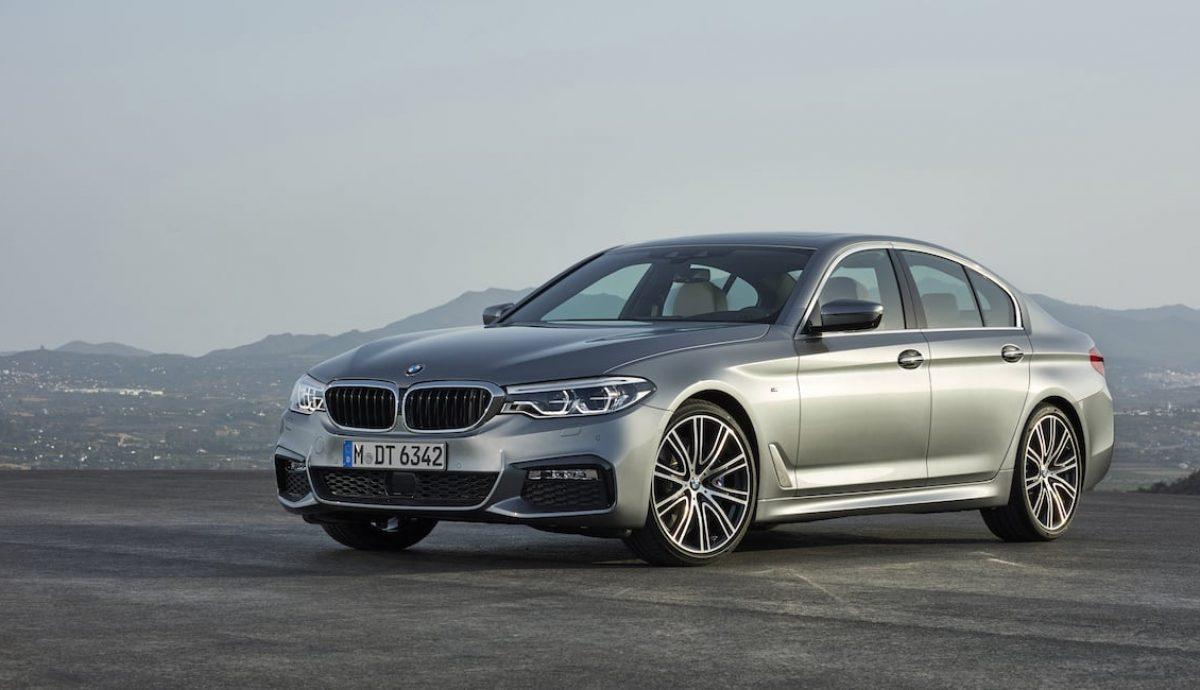 New BMW 5 Series saloon 01