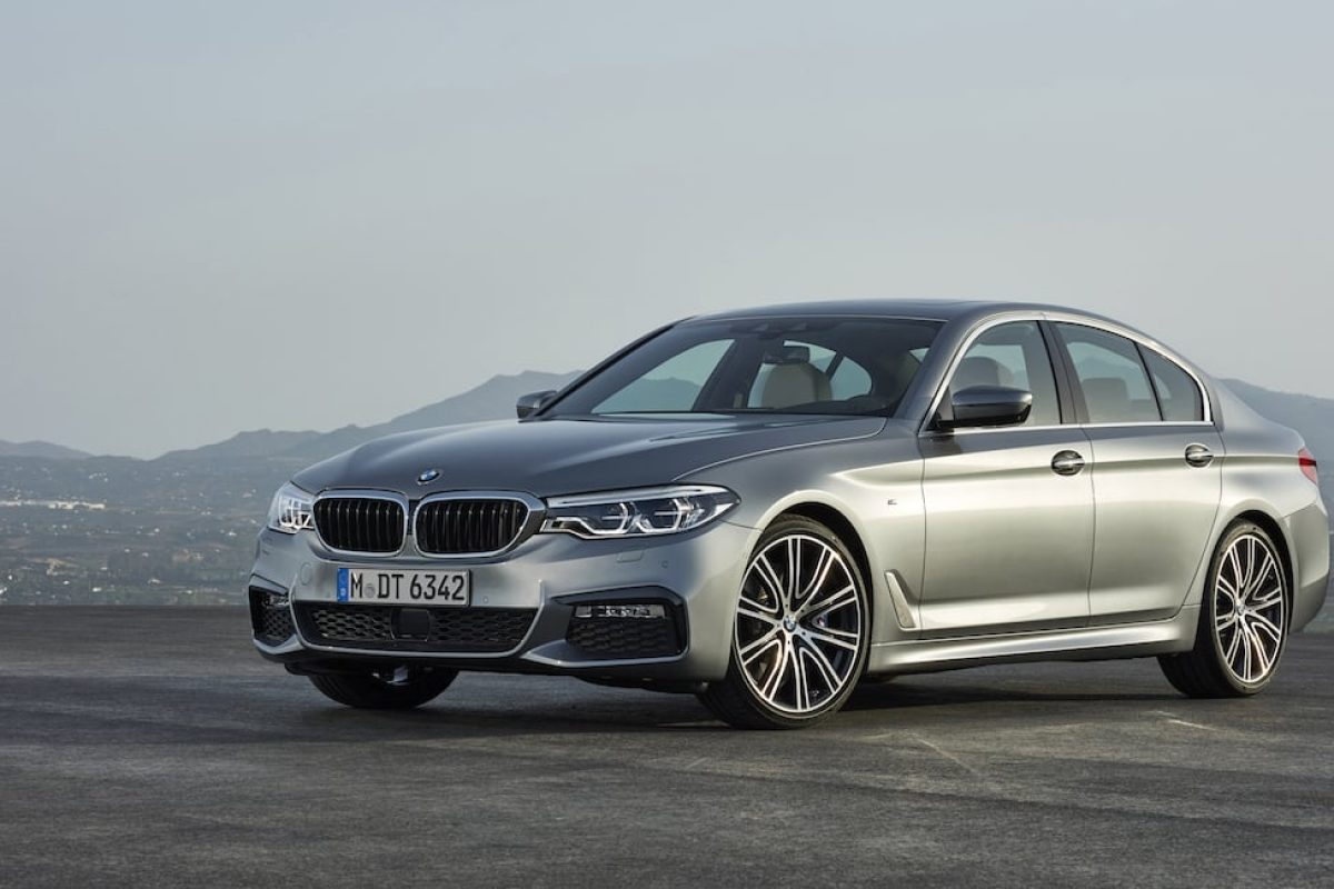 New BMW 5 Series saloon 01