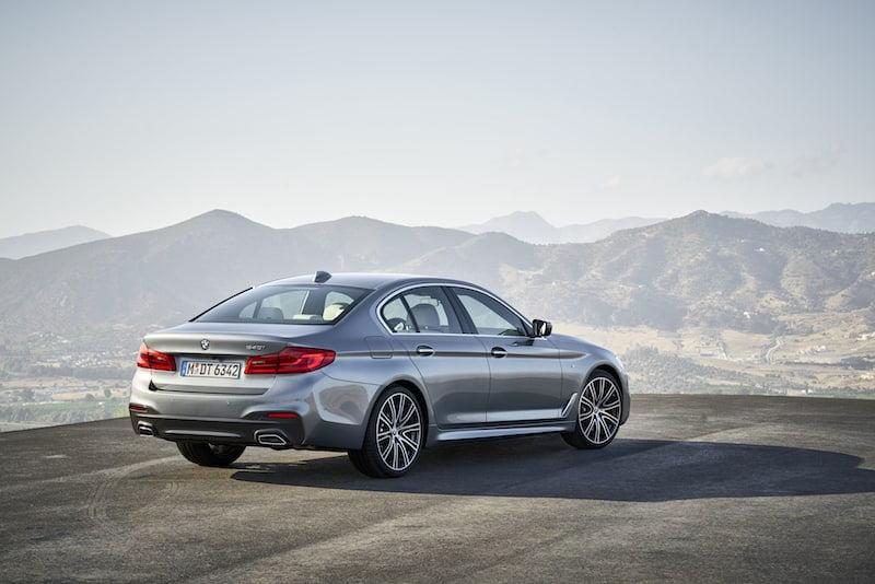 New BMW 5 Series saloon 02